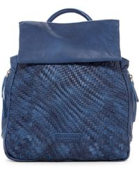 Liebeskind Berlin | Handwoven Leather Backpack | Lyst