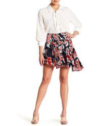 Jason Wu - Asymmetrical Floral Printed Skirt - Lyst