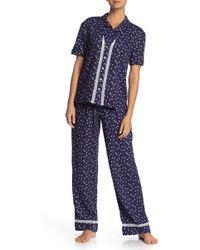 Cosabella - Margaux Printed Pyjama Pants - Lyst
