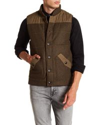 Jeremiah - Belmont Quilted Wool Vest - Lyst