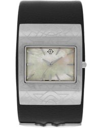 Nanette Lepore - Women's Emma Leather Strap Watch - Lyst