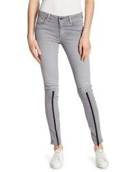 Genetic Denim - Shya Zip Hem Skinny Jeans - Lyst
