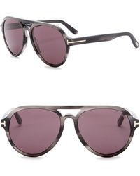 3ed81d97acdc Nordstrom Rack · Tom Ford - Rory Aviator Sunglasses 57mm - Lyst