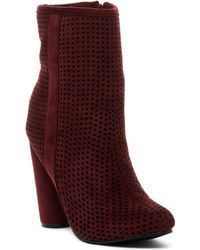 Catherine Malandrino - Legacine Perforated Bootie - Lyst