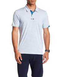 Oakley - Gravity Tailored Fit Polo - Lyst