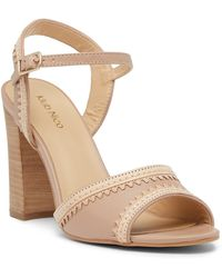 Klub Nico - Talici Leather Block Heel Sandal - Lyst
