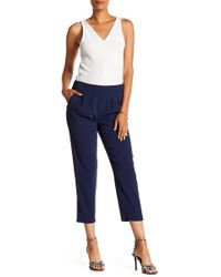 Ramy Brook - Kailey Cropped Woven Pants - Lyst