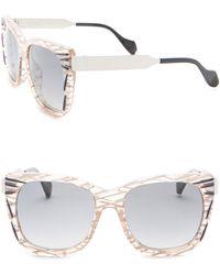 Fendi - 54mm Oversized Sunglasses - Lyst