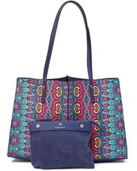 Nanette Lepore - Tabetha Print Carry All Tote - Lyst