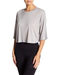 Alo Yoga - Verve Short Sleeve Top - Lyst