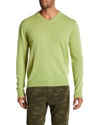 Weatherproof - Cashmere V-neck Sweater - Lyst