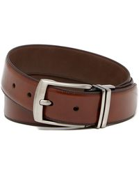 Boconi - Reversible Leather Belt - Lyst