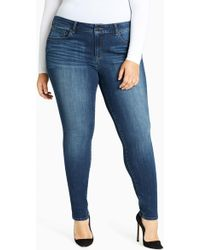 William Rast - Perfect Mid Rise Ankle Skinny Jeans (plus Size) - Lyst