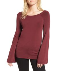 Chelsea28 | Flare Sleeve Sweater | Lyst