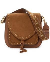 Vince Camuto - Artera Leather Shoulder Bag - Lyst