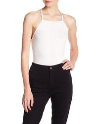 Lush | Strappy Back Bodysuit | Lyst