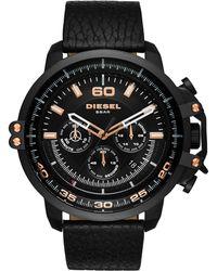 DIESEL - Men's Deadeye Three-hand Quartz Watch - Lyst