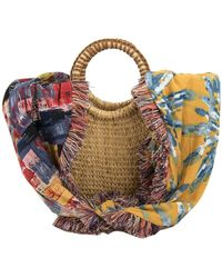 Sam Edelman - Adira Straw Basket Bag - Lyst