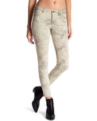 William Rast - Tie-dye Cropped Skinny Ankle Jeans - Lyst