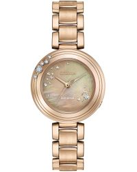Citizen - Women's Eco-drive Gold-tone Silhouette Sport Watch, 28mm - Lyst