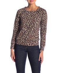 Love, Fire - Holey Leopard Patterned Sweatshirt - Lyst