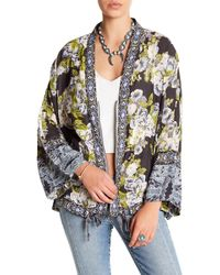 Free People | Wildflower Cinched Kimono | Lyst