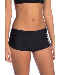 adidas - Side Stripe Swim Shorts - Lyst