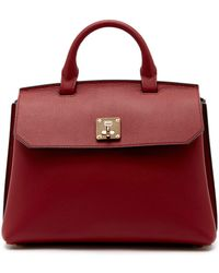 MCM - Fontanellas Park Ave Milla Leather Mid Convertible Backpack - Lyst