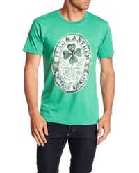Flag & Anthem - Short Sleeve Shamrock Brewery Graphic Tee - Lyst