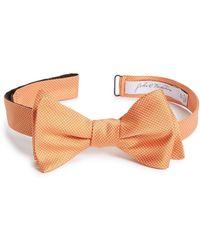 John W. Nordstrom - (r) Dot Silk Bow Tie - Lyst