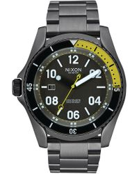Nixon - Men's Descender Watch, 45mm - Lyst