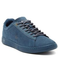 Lacoste - Carnaby Evo 118 Suede Sneaker - Lyst