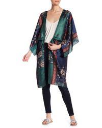 Dress Forum - Patchwork Print Kimono - Lyst
