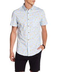 Sovereign Code - Crystal Cove Short Sleeve Regular Fit Shirt - Lyst