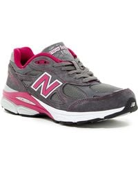 New Balance - 990 Premium Lace Up For The Cure(r) Running Shoe - Lyst