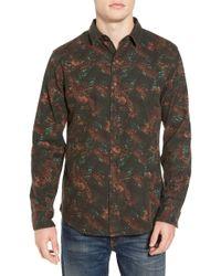 1901 - Print Flannel Shirt - Lyst