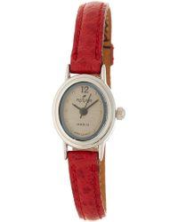 Peyote Bird - Women's Petite Timepiece Leather Strap Watch, 17mm - Lyst