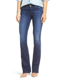 Kut From The Kloth - Natalie Stretch Bootleg Jeans - Lyst