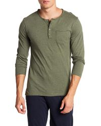 Unsimply Stitched - Long Sleeve Pocket Tee - Lyst