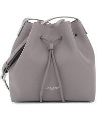 Lancaster Paris - Pur Saffiano Leather Bucket Bag - Lyst