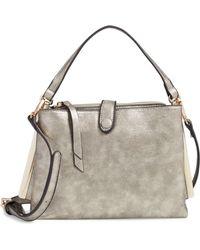 Sondra Roberts - Faux Leather Crossbody Handbag - Lyst