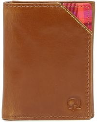 Robert Graham - Derby Leather Trifold Wallet - Lyst