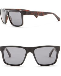 Guess - 54mm Rectangle Sunglasses - Lyst