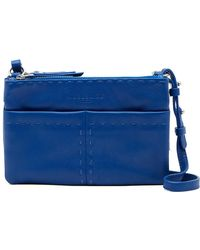 Liebeskind Berlin - Greensboro Triple-zip Leather Crossbody Bag - Lyst