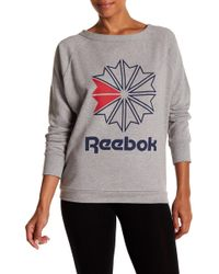 Reebok - Heritage Boatneck Sweater - Lyst