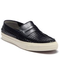Cole Haan - Pinch Weekend Lx Huarache Leather Loafer - Lyst