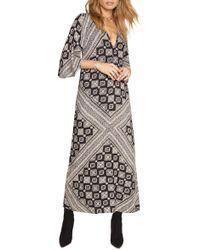 Amuse Society - Scorpio Print Maxi Dress - Lyst