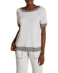 Love+Grace - Short Sleeve Sweatshirt - Lyst