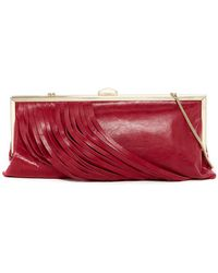 Hobo - Colette Leather Clutch - Lyst