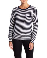 Lucky Brand - French Stripe Cotton Sweater - Lyst